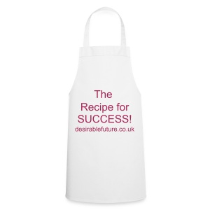 Recipe for success Apron - white - Cooking Apron