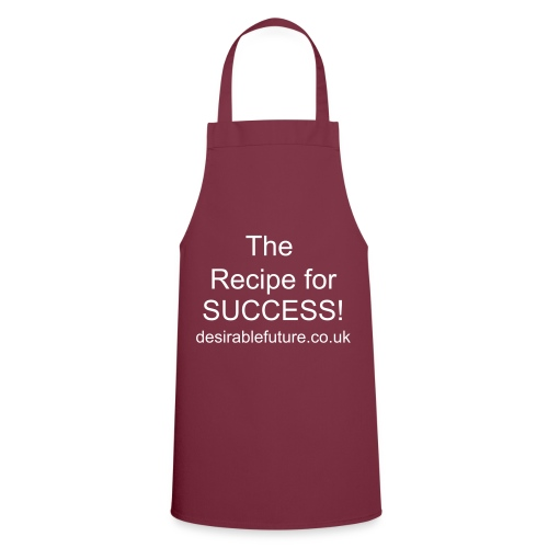 Recipe for success apron - burgundy - Cooking Apron