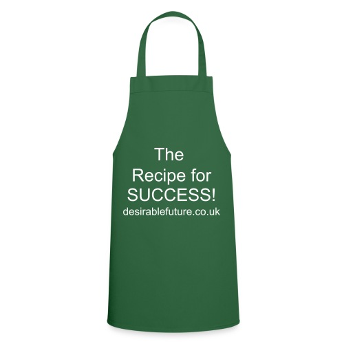 Recipe for success apron - green - Cooking Apron