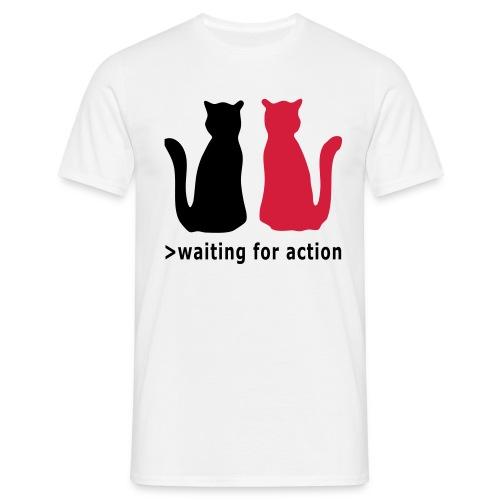 T-Shirt Cats - Männer T-Shirt