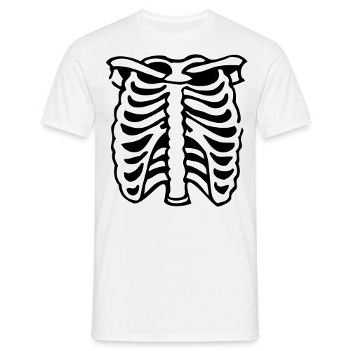 T-Shirt Skelett - Männer T-Shirt
