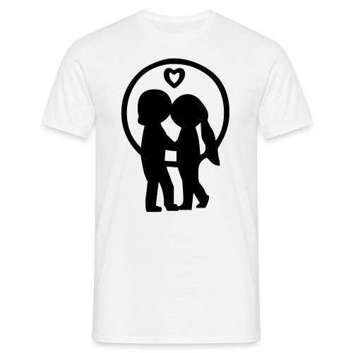 T-Shirt Love - Männer T-Shirt