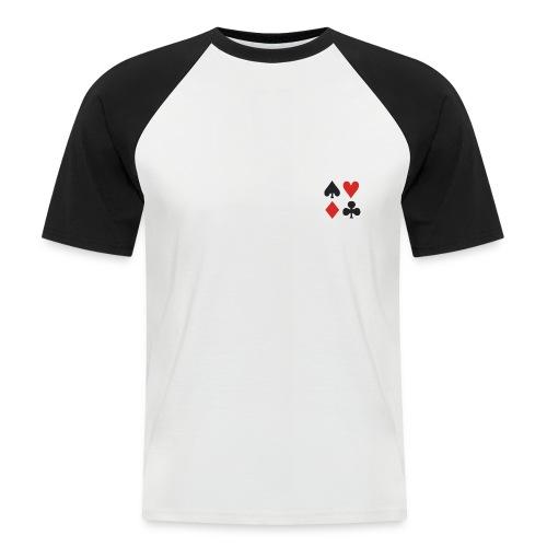 T-Shirt Baseball - 10 de coeur - T-shirt baseball manches courtes Homme