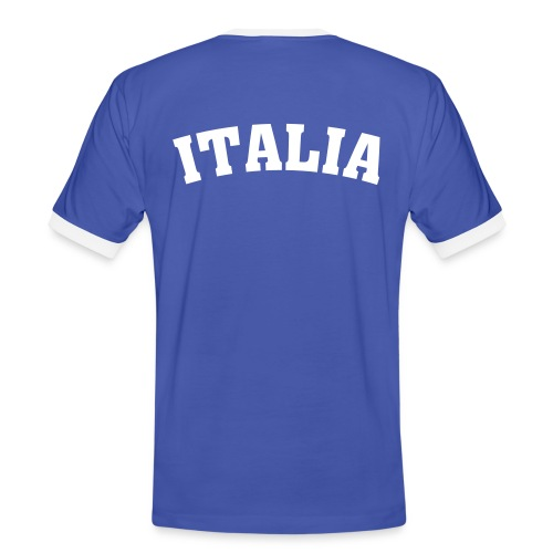 T-Shirt ITALIA - Männer Kontrast-T-Shirt