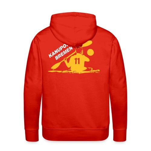 Kapuzenpulli rot - Männer Premium Hoodie
