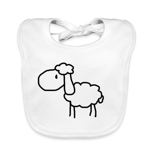 Das Schaf - Baby Bio-Lätzchen