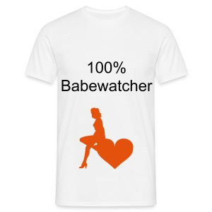 Babewatcher - Men's T-Shirt
