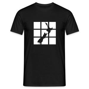 NZ Outline T-shirt - Men's T-Shirt