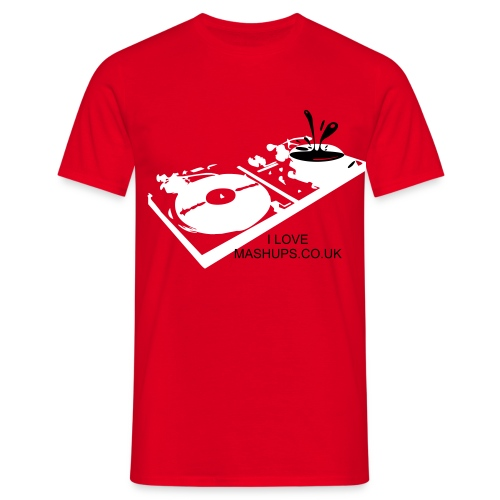 Turntables - Men's T-Shirt