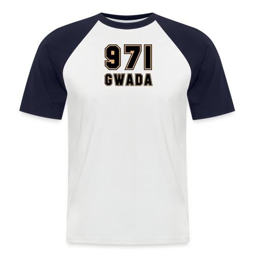 971 Gwada - T-shirt baseball manches courtes Homme
