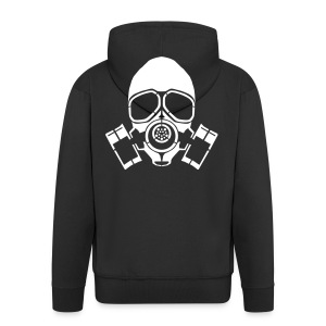 Gas Mask - Men's Premium Hooded Jacket