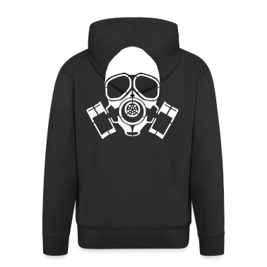 gas mask hooded jacket