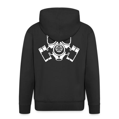 Gas Mask - Men's Premium Hooded Jacket