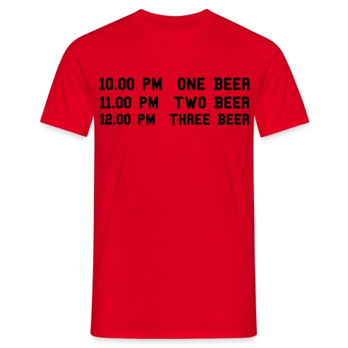 Beer Shirt (look the retro shirt) - Maglietta da uomo