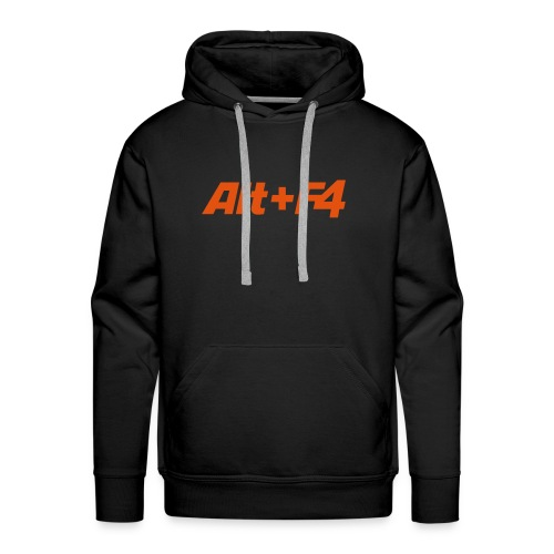 Kapuzenshirt - ALT + F4 - Männer Premium Hoodie
