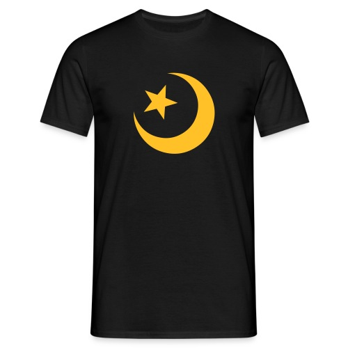 Moon Star - Herre-T-shirt