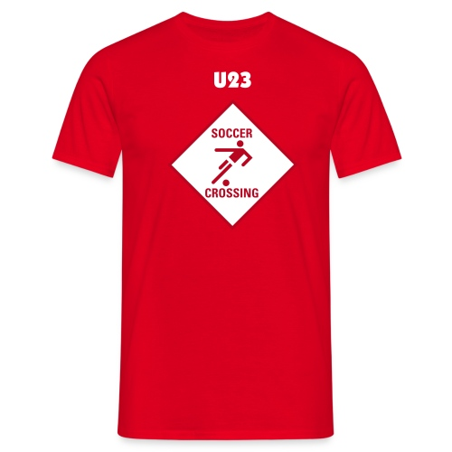 Soccer-Crossing - Männer T-Shirt