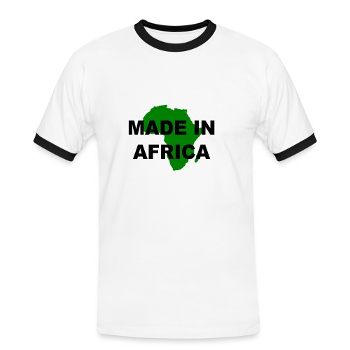 Made in Africa t-shirt - Men's Ringer Shirt