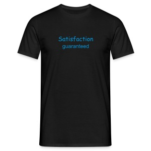 Satisfaction guaranteed - T-skjorte for menn