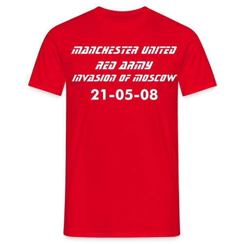 Red Army Invasion of Moscow - Men's T-Shirt