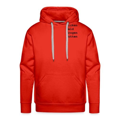 Hoodie FGDN - MushiFlo - Rot - Männer Premium Hoodie
