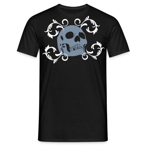 Blue Skull   - Mannen T-shirt
