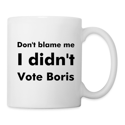 I Didn't Vote Boris Mug - Mug