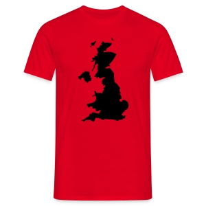 Great Britain Red - Men's T-Shirt