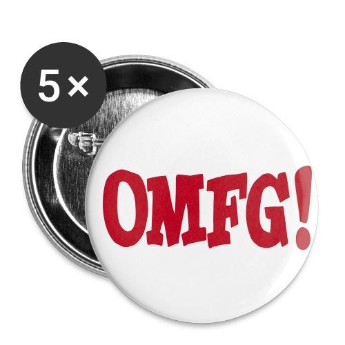 OMFG! Badge - Buttons medium 32 mm