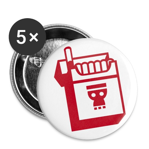 Cigarette Badge - Buttons small 25 mm
