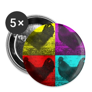 Chicken Badge - Buttons small 25 mm