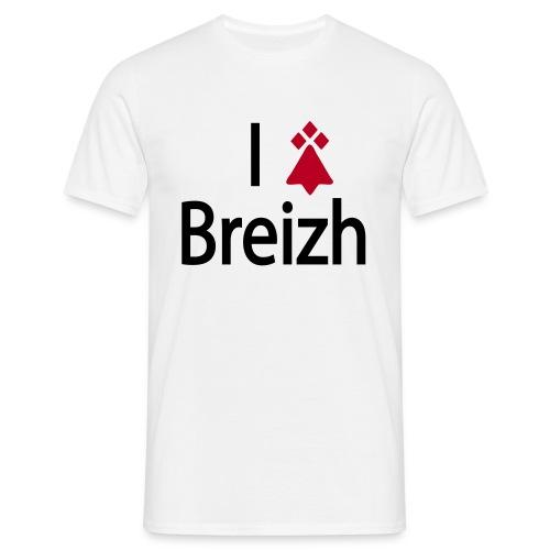 I love Breizh - Gwenn - T-shirt Homme