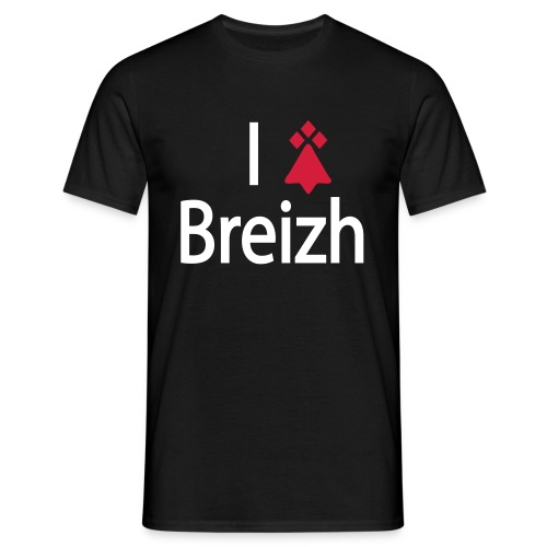 I love Breizh - Du - T-shirt Homme