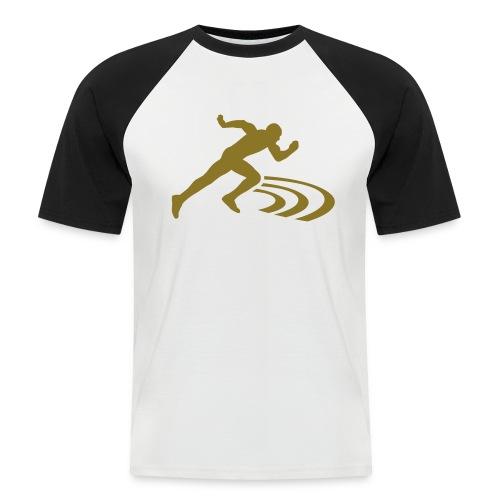 69 fridrt Tee - Kortermet baseball skjorte for menn