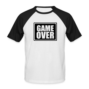 Game Over - Men's Baseball T-Shirt