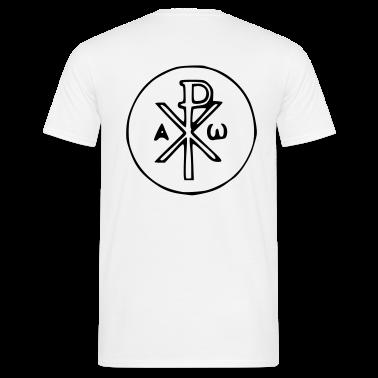 Bianco Jesus T-shirt (maniche corte)