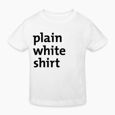 White plain white shirt Juniors