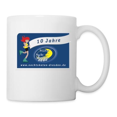 Tasse 10 Jahre Dresdner Nachtskaten - Tasse