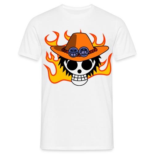 Ace White - Männer T-Shirt