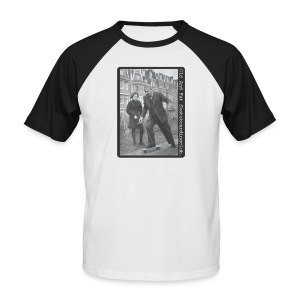 Old and Fat Skateboarding Club. - Men's Baseball T-Shirt