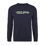 Hoodies & Sweatshirts ~ Men's Sweatshirt ~ Obsession Navy Sweatshirt