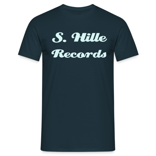 S. Hille Records - Männer T-Shirt