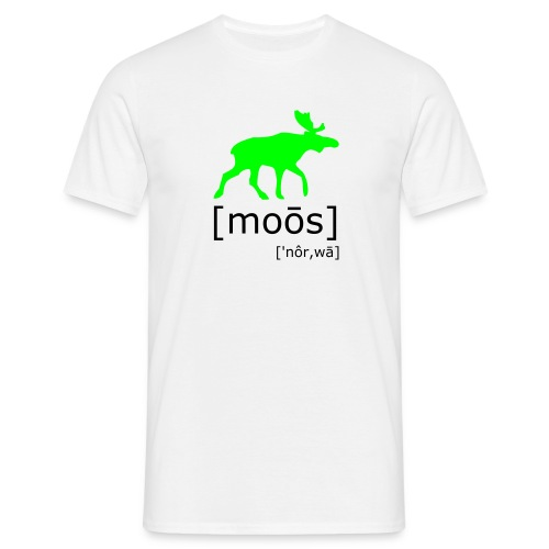 Moose - T-skjorte for menn