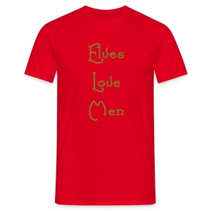 Elves Love Men - Men's T-Shirt