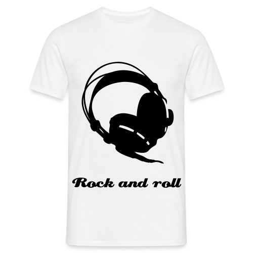 Rock and roll in tha house - Mannen T-shirt