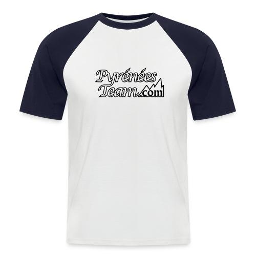 Pyrénées Team Officiel - T-shirt baseball manches courtes Homme