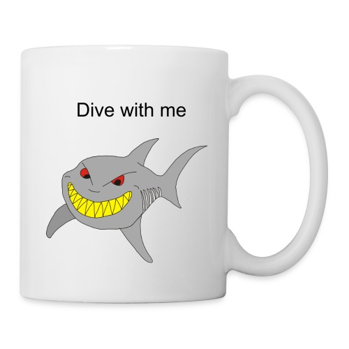 Dive with me - Tasse