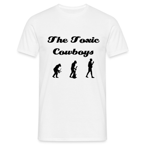 Toxic Cowboys evolution - Men's T-Shirt