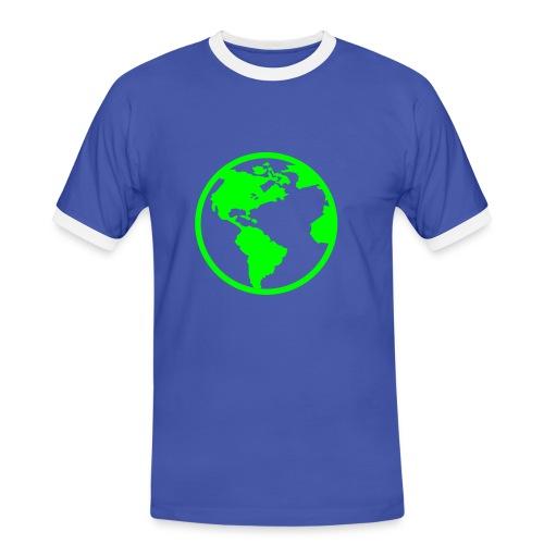 planete bleu starc - T-shirt contrasté Homme