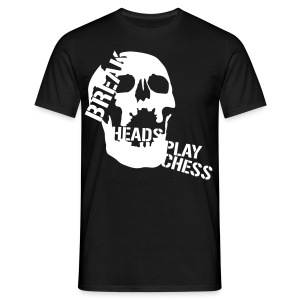 Player - white/black shirt - Männer T-Shirt